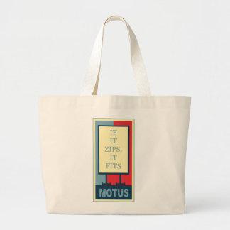 srdem65's: IF IT ZIPS IT FITS Tote Bag