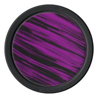 Sreaks púrpura fichas de póquer