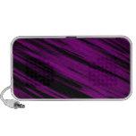 Sreaks púrpura iPod altavoz
