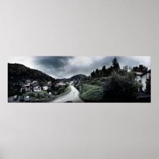 Srebrenica - Panorama Poster