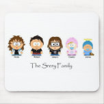 Srery Family Mouse Pad