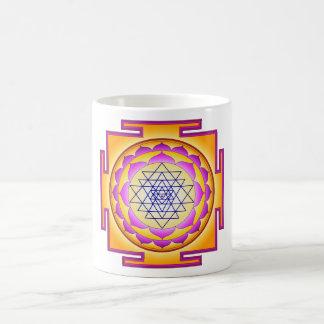 Sri Chakra Goddess Shri Lalitha Tripura Sundari Classic White Coffee Mug