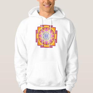 Sri Chakra Goddess Shri Lalitha Tripura Sundari Hooded Sweatshirts