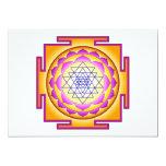 Sri Chakra Goddess Shri Lalitha Tripura Sundari Custom Invitation