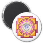 Sri Chakra Goddess Shri Lalitha Tripura Sundari Magnets