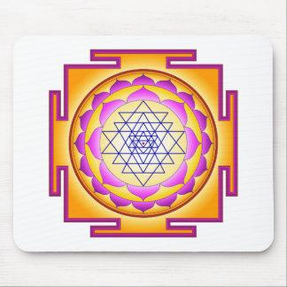 Sri Chakra Goddess Shri Lalitha Tripura Sundari Mouse Pad