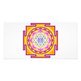 Sri Chakra Goddess Shri Lalitha Tripura Sundari Photo Card