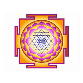 Sri Chakra Goddess Shri Lalitha Tripura Sundari Post Cards
