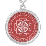 Sri espiritual adaptable Yantra Colgante Personalizado