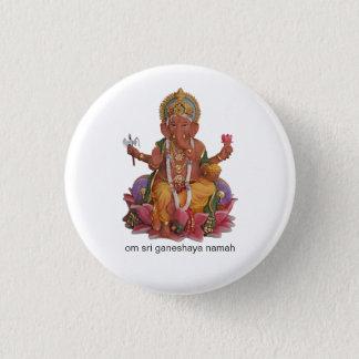 Sri Ganesha Button Badge
