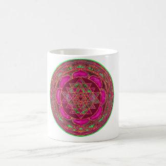 Sri Lakshmi Yantra Mandala Coffee Mug