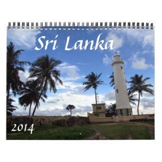 Sri Lanka 2014 Calendario
