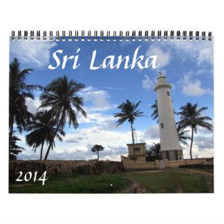 sri lanka 2014 calendar