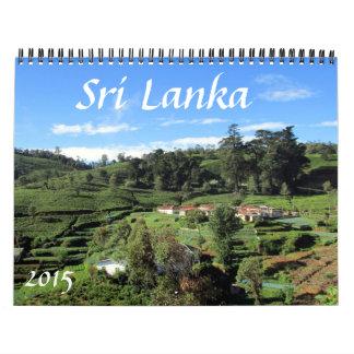 sri lanka 2015 wall calendar