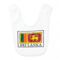 Sri Lanka Baby Bib