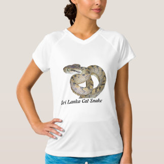 Sri Lanka Cat Snake Micro-Fiber Sleeveless T-Shirt