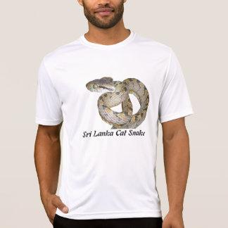 Sri Lanka Cat Snake Performance Micro-Fiber T T-Shirt