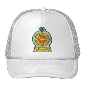 Sri Lanka Coat of Arms Hat