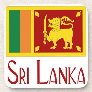 Sri Lanka Beverage Coaster