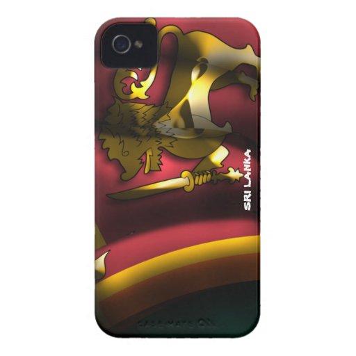 Sri Lanka Flag Iphone 4/4S Case-Mate Case