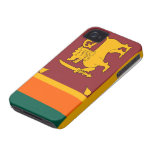 Sri Lanka Flag iphone 4 case