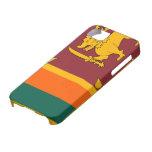 Sri Lanka Flag iPhone SE/5/5s Case