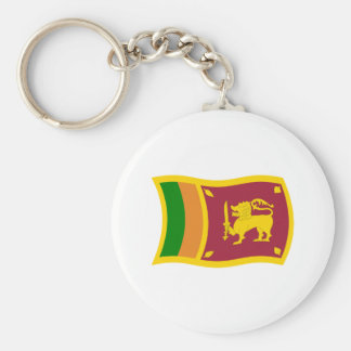 Sri Lanka Flag Keychain