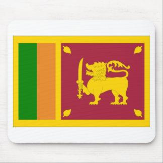 Sri Lanka Flag Mousepads