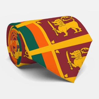 Sri Lanka flag Neck Tie
