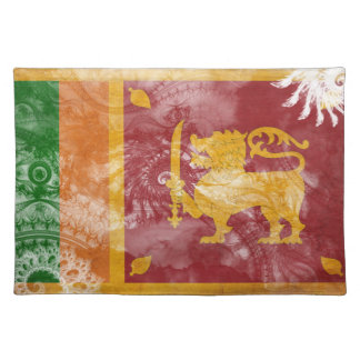 Sri Lanka Flag Placemat