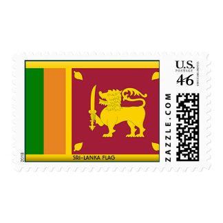 SRI-LANKA FLAG STAMPS