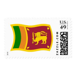 Sri Lanka Flag Stamps