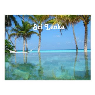 Sri Lanka hermosa Postal