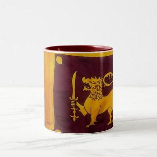 Sri Lanka -Mug- Two-Tone Coffee Mug