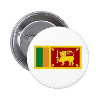 Sri Lanka National Flag Pinback Button