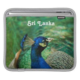 Sri Lanka Peafowl Sleeves For iPads