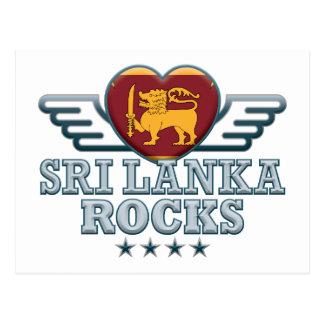 Sri Lanka Rocks v2 Postcard