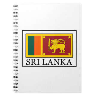 Sri Lanka Spiral Notebooks