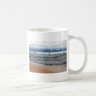 Sri Lanka stick fishermen Indian ocean fishing Coffee Mug