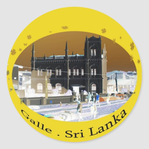 sri lanka sticker 1 galle, Sri Lanka