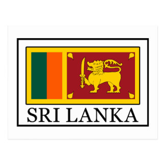 Sri Lanka Tarjeta Postal