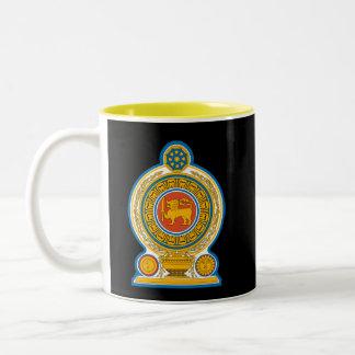 SRI LANKA * - taza de cerámica