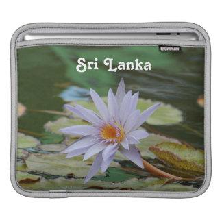 Sri Lanka Water Lily iPad Sleeve
