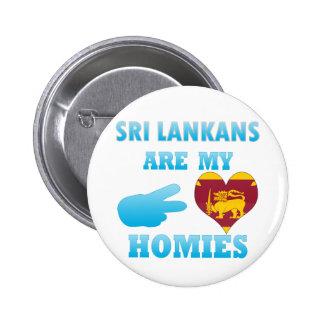 Sri Lankans are my Homies 2 Inch Round Button