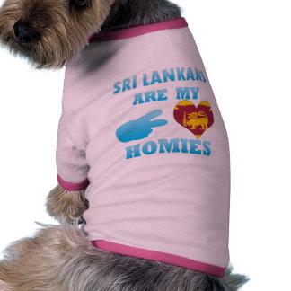 Sri Lankans are my Homies Pet T-shirt