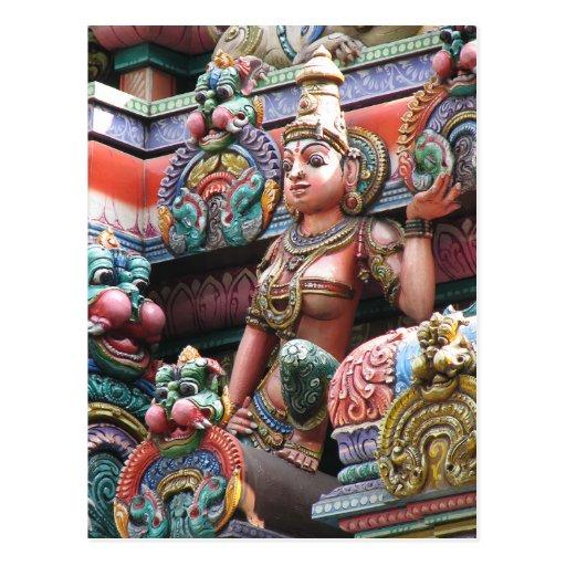 Sri Mahamariamman Temple Post Card
