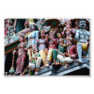Sri Mariamman Temple Singapore Art Photo