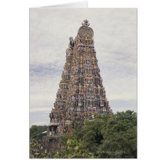 Sri Meenakshi Amman Temple, Madurai, Tamil Nadu, Greeting Card