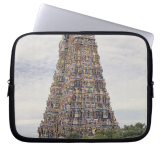 Sri Meenakshi Amman Temple, Madurai, Tamil Nadu, Laptop Computer Sleeve