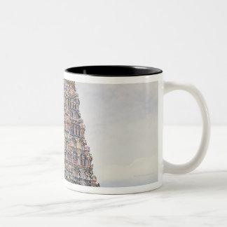 Sri Meenakshi Amman Temple, Madurai, Tamil Nadu, Two-Tone Coffee Mug